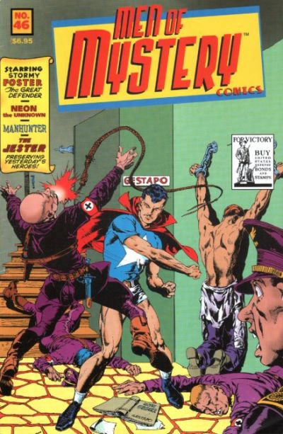 Cover for Men of Mystery Comics (AC, 1999 series) #46
