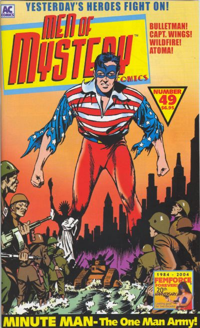 Cover for Men of Mystery Comics (AC, 1999 series) #49