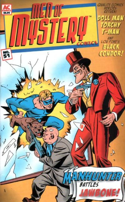 Cover for Men of Mystery Comics (AC, 1999 series) #51