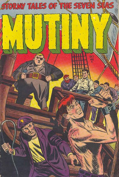 Cover for Mutiny (Stanley Morse, 1954 series) #1