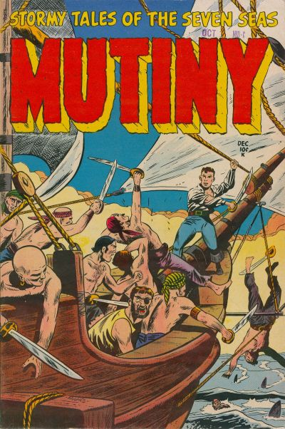 Cover for Mutiny (Stanley Morse, 1954 series) #2