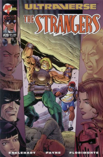 Cover for The Strangers (Malibu, 1993 series) #20