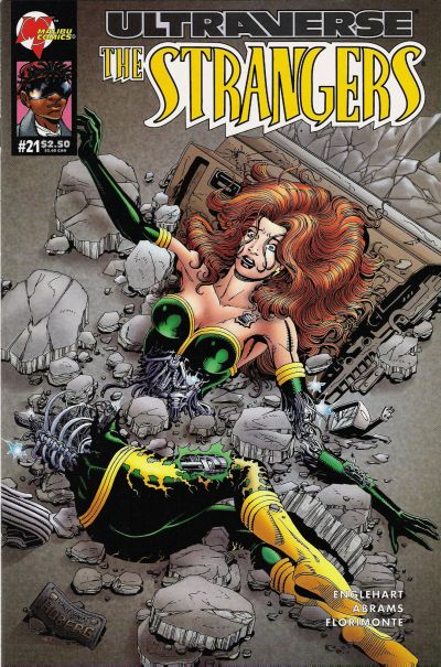 Cover for The Strangers (Malibu, 1993 series) #21