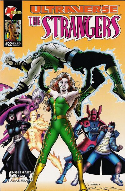 Cover for The Strangers (Malibu, 1993 series) #22