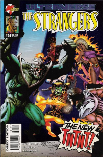 Cover for The Strangers (Malibu, 1993 series) #24
