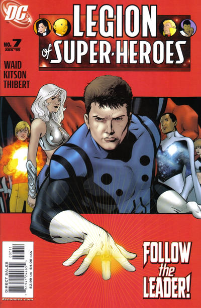 Cover for Legion of Super-Heroes (DC, 2005 series) #7