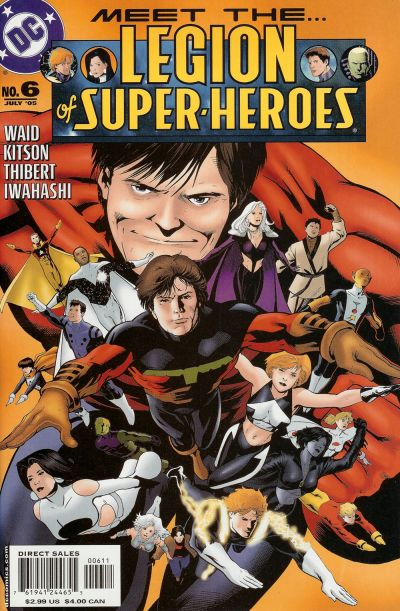 Cover for Legion of Super-Heroes (DC, 2005 series) #6