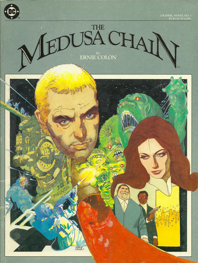 Cover for DC Graphic Novel (DC, 1983 series) #3 - The Medusa Chain