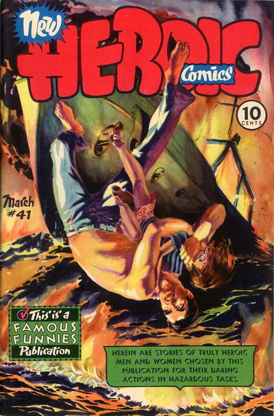 Cover for New Heroic Comics (Eastern Color, 1946 series) #41