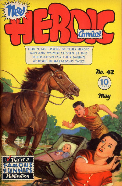 Cover for New Heroic Comics (Eastern Color, 1946 series) #42