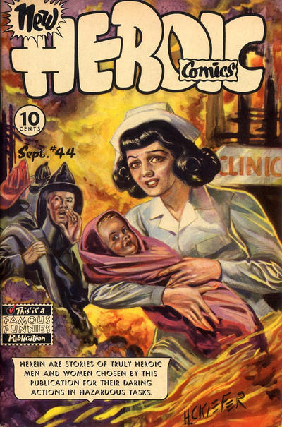 Cover for New Heroic Comics (Eastern Color, 1946 series) #44