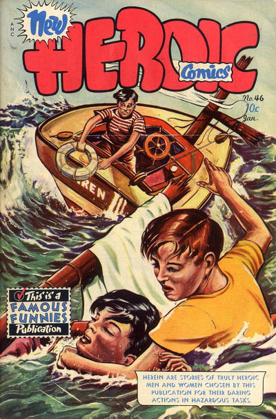 Cover for New Heroic Comics (Eastern Color, 1946 series) #46