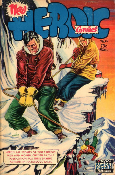 Cover for New Heroic Comics (Eastern Color, 1946 series) #47