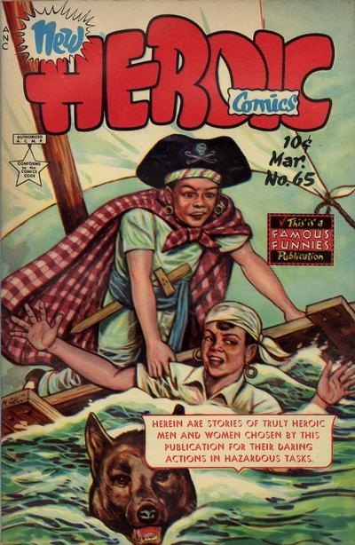 Cover for New Heroic Comics (Eastern Color, 1946 series) #65