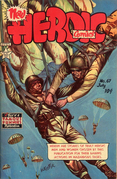 Cover for New Heroic Comics (Eastern Color, 1946 series) #67