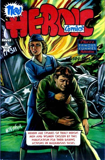 Cover for New Heroic Comics (Eastern Color, 1946 series) #68
