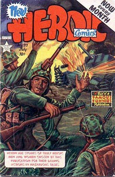 Cover for New Heroic Comics (Eastern Color, 1946 series) #73
