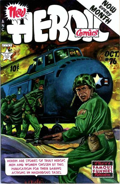 Cover for New Heroic Comics (Eastern Color, 1946 series) #76