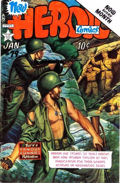 Cover for New Heroic Comics (Eastern Color, 1946 series) #79