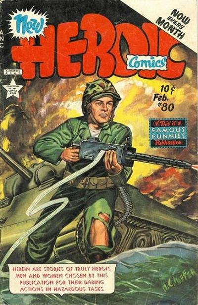 Cover for New Heroic Comics (Eastern Color, 1946 series) #80