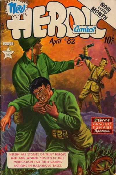 Cover for New Heroic Comics (Eastern Color, 1946 series) #82