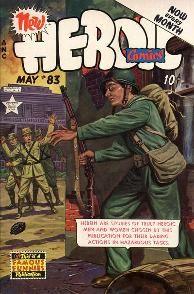 Cover for New Heroic Comics (Eastern Color, 1946 series) #83