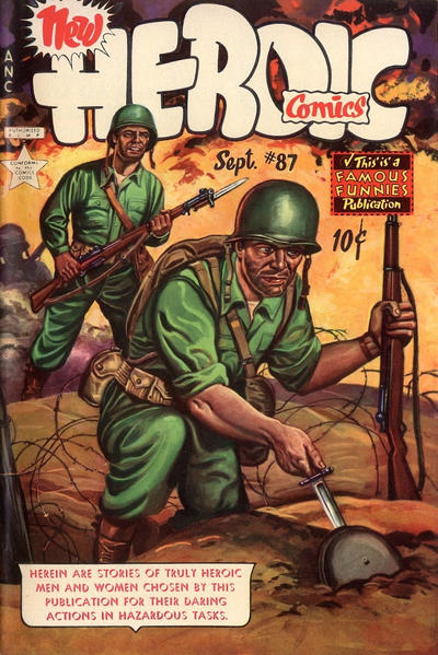 Cover for New Heroic Comics (Eastern Color, 1946 series) #87