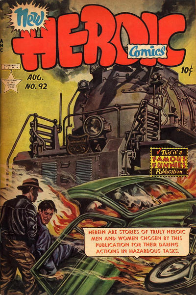 Cover for New Heroic Comics (Eastern Color, 1946 series) #92