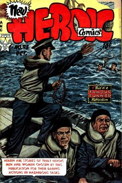 Cover for New Heroic Comics (Eastern Color, 1946 series) #93