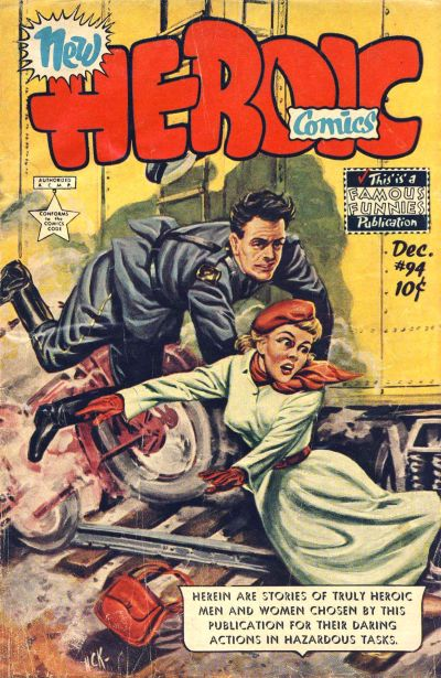 Cover for New Heroic Comics (Eastern Color, 1946 series) #94