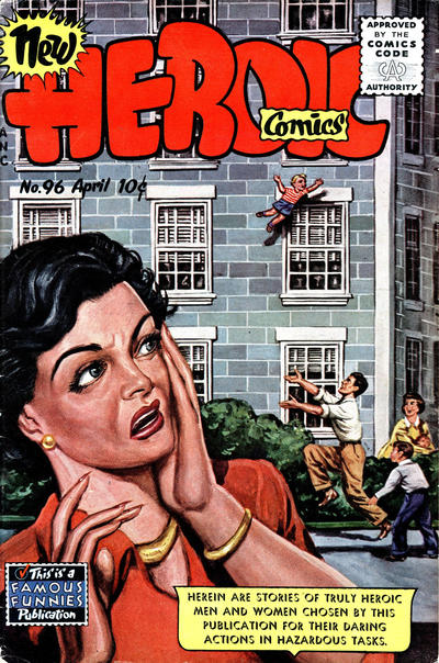 Cover for New Heroic Comics (Eastern Color, 1946 series) #96
