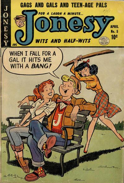 Cover for Jonesy (Quality Comics, 1953 series) #5