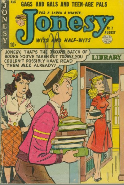 Cover for Jonesy (Quality Comics, 1953 series) #7