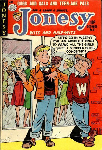 Cover for Jonesy (Quality Comics, 1953 series) #8