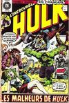 Cover for L'Incroyable Hulk (Editions Héritage, 1968 series) #11