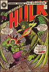 Cover for L'Incroyable Hulk (Editions Héritage, 1968 series) #27