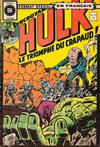 Cover for L'Incroyable Hulk (Editions Héritage, 1968 series) #50