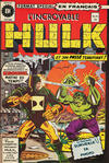 Cover for L'Incroyable Hulk (Editions Héritage, 1968 series) #63