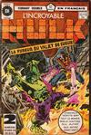 Cover for L'Incroyable Hulk (Editions Héritage, 1968 series) #72/73