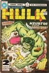 Cover for L'Incroyable Hulk (Editions Héritage, 1968 series) #86/87