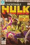 Cover for L'Incroyable Hulk (Editions Héritage, 1968 series) #94/95