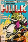 Cover for L'Incroyable Hulk (Editions Héritage, 1968 series) #100/101