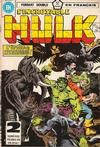 Cover for L'Incroyable Hulk (Editions Héritage, 1968 series) #112/113