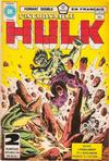 Cover for L'Incroyable Hulk (Editions Héritage, 1968 series) #122/123