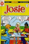 Cover for Josie (Editions Héritage, 1974 series) #35