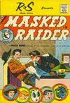 Cover for Masked Raider (Charlton, 1959 series) #10 [R & S Shoe Store]