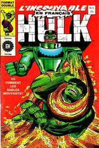 Cover Thumbnail for L'Incroyable Hulk (Editions Héritage, 1968 series) #6