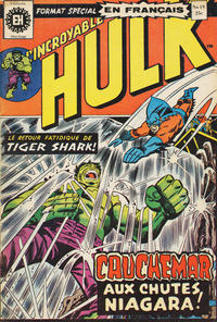 Cover Thumbnail for L' Incroyable Hulk (Editions Héritage, 1968 series) #19