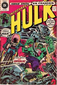 Cover Thumbnail for L'Incroyable Hulk (Editions Héritage, 1968 series) #22