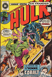 Cover Thumbnail for L'Incroyable Hulk (Editions Héritage, 1968 series) #32